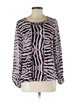 Alfani Long Sleeve Blouse Size M