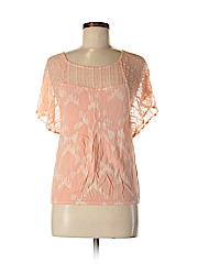 Mudd Women Short Sleeve Blouse Size S