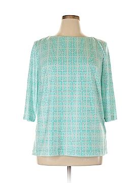 Elizabeth McKay 3/4 Sleeve Blouse Size XL