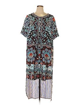 Hemant And Nandita Casual Dress Size 1X (Plus)
