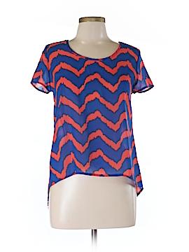 Dejavu Short Sleeve Blouse Size S