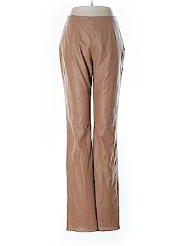 Armani Collezioni Leather Pants Size 6