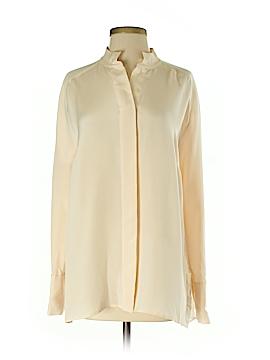 By Malene Birger Long Sleeve Silk Top Size 36 (EU)