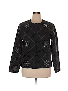 Casual Corner Wool Cardigan Size XL