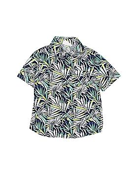 Crazy 8 Short Sleeve Button-Down Shirt Size 2T