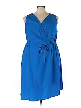 Donna Ricco Casual Dress Size 22W Plus (Plus)