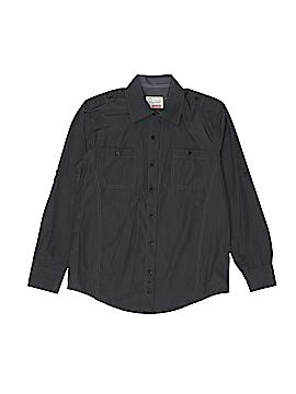 Sovereign Code Long Sleeve Button-Down Shirt Size 10 - 12
