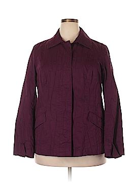 Coldwater Creek Long Sleeve Button-Down Shirt Size 18w (Plus)