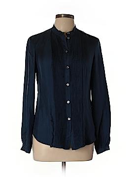Martin + Osa Long Sleeve Silk Top Size 10