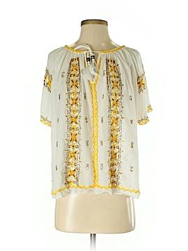 Calypso St. Barth Short Sleeve Blouse Size XS