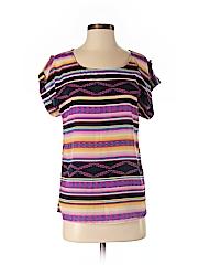 Love Notes Women Short Sleeve Blouse Size S