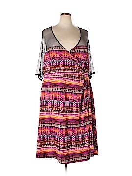 Kiyonna Casual Dress Size 4X (Plus)