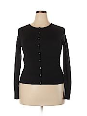 Neiman Marcus Women Silk Cardigan Size XL
