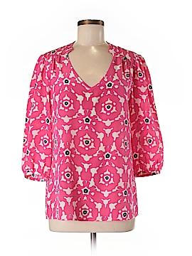 Annie Griffin 3/4 Sleeve Silk Top Size M
