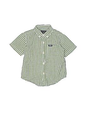 Nautica Short Sleeve Button-Down Shirt Size 3