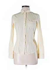 SO Women Long Sleeve Button-Down Shirt Size M