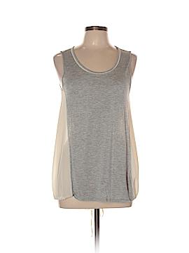 Hem & Thread Sleeveless Top Size L