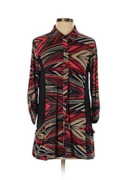 Lynn Ritchie 3/4 Sleeve Button-Down Shirt Size S