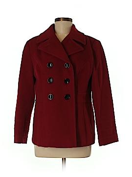 St. John's Bay Wool Coat Size M (Petite)