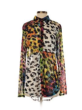 Lynn Ritchie Long Sleeve Button-Down Shirt Size S