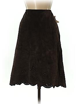 David Brooks Leather Skirt Size 8