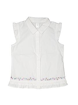 Carter's Short Sleeve Button-Down Shirt Size 6