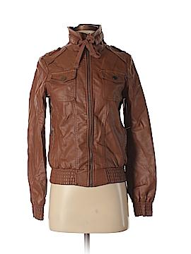 Love Culture Faux Leather Jacket Size M