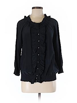Joie 3/4 Sleeve Silk Top Size M