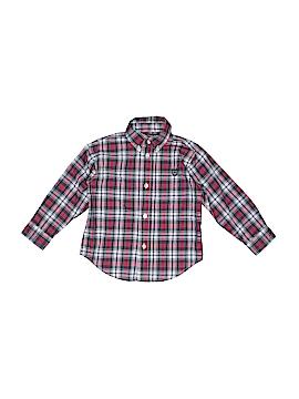 Chaps Long Sleeve Button-Down Shirt Size 24 mo