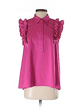 Zara Sleeveless Button-Down Shirt Size S