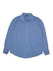 Gap Kids Boys Long Sleeve Button-Down Shirt Size 10