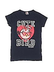 Angry Birds Boys Short Sleeve T-Shirt Size 11 - 12