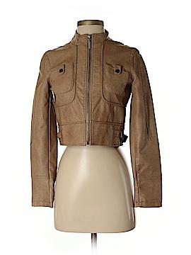 Bernardo Faux Leather Jacket Size XS