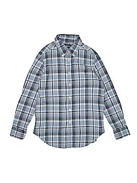 Ralph Lauren Long Sleeve Button-Down Shirt Size 10-12