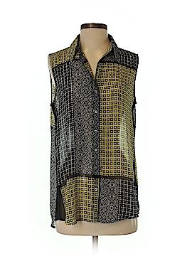 Chaus Sleeveless Button-Down Shirt Size S