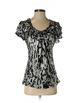 Always Sunny by Sunny Leigh Short Sleeve Blouse Size S