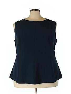 Enlo Sleeveless Blouse Size 24W (Plus)