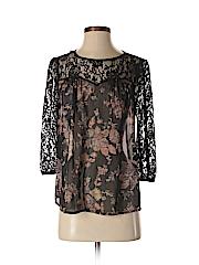 Soprano Women 3/4 Sleeve Blouse Size XS