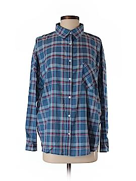 Margot Long Sleeve Button-Down Shirt Size S