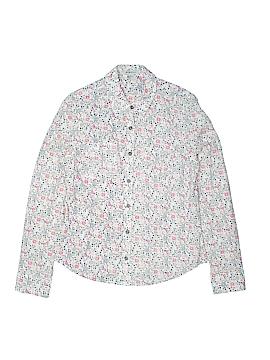 BCBGirls Long Sleeve Button-Down Shirt Size M (Kids)