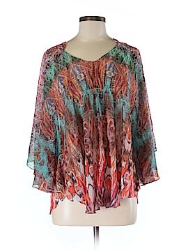 V Cristina 3/4 Sleeve Blouse Size M