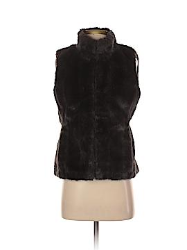 Banana Republic Faux Fur Vest Size XS