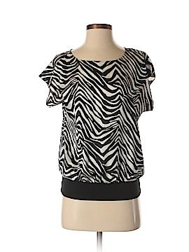 Ann Taylor Factory Women Short Sleeve Blouse Size XS