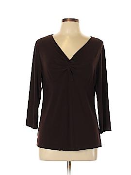 Christine Gerard 3/4 Sleeve Top Size L