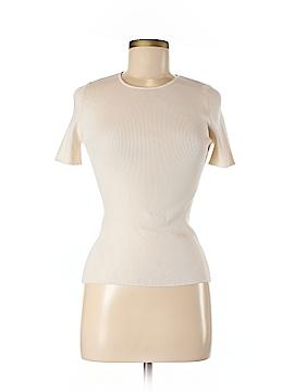 RENA LANGE Silk Pullover Sweater Size M