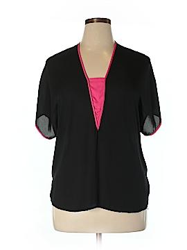 Landa Curve By Dora Landa Short Sleeve Blouse Size XL