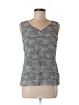 Tory Burch Sleeveless Silk Top Size 6