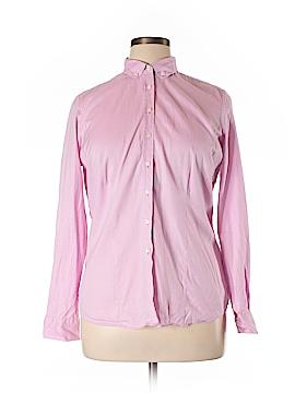 Charles Tyrwhitt Long Sleeve Button-Down Shirt Size 14