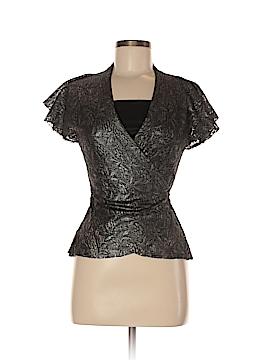 Diane von Furstenberg Short Sleeve Blouse Size 8