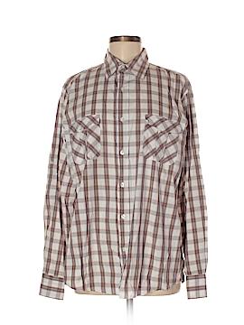 Paper Denim & Cloth Long Sleeve Button-Down Shirt Size Med (2)